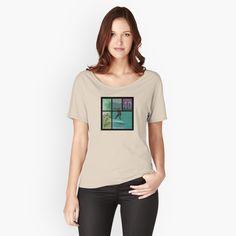 'Radeln' Loose Fit T-Shirt von Nika-schwan Graphic T Shirts, Graphic Art, Graphic Design, My T Shirt, V Neck T Shirt, Loose Fit, Harry Styles, Vintage T-shirts, Clash Royale