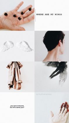 castiel aesthetic // supernatural wallpaper and lockscreen