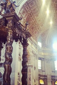 Rom City Guide: Der Petersdom - Gold, Imposanz und Prunk wohin das Auge reicht. #italy #italien #rome #rom (scheduled via http://www.tailwindapp.com?utm_source=pinterest&utm_medium=twpin&utm_content=post160004411&utm_campaign=scheduler_attribution)