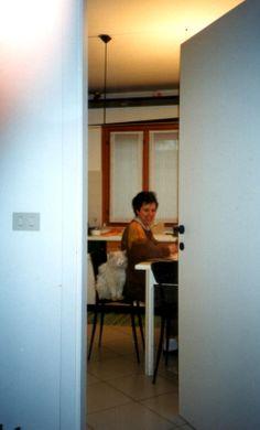1997 : al lavoro per la stesura del primo libro