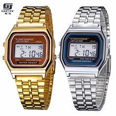 electronic Watches male and female students Watch children Digital Quartz Wristwatches 30M Waterproof Fashion Sports Watches #>=#>=#>=#>=#> Click on the pin to check out discount price, color, size, shipping, etc. Save and like it!