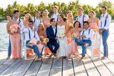 A recap of my Belize Beach Wedding on the island of Ambergris Caye at Las Terrazas Resort.