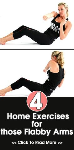 Home Exercises for those Flabby Arms