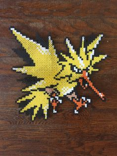 A personal favorite from my Etsy shop https://www.etsy.com/listing/466607248/zapdos-perler-large