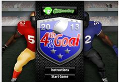 4th and Goal 2013 is cool game. Great strategies can be seen.