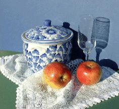 watercolor still life painting lesson - too advanced for me right now, but lots of great tips within!