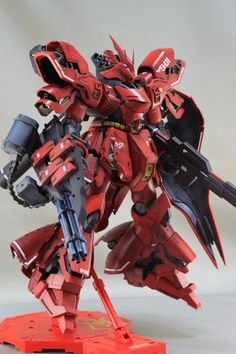 GUNDAM GUY: MG 1/100 Sazabi Ver.Ka - Customized Build