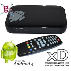 G-Box xD Android 4 Web Streaming TV Mini PC Amazon Sales in Multiroom Digital Music Systems