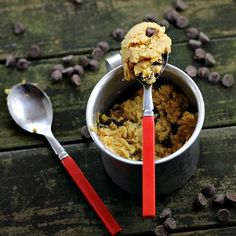 Peanut Butter Chocolate Chip Cookie Dough - chickpeas
