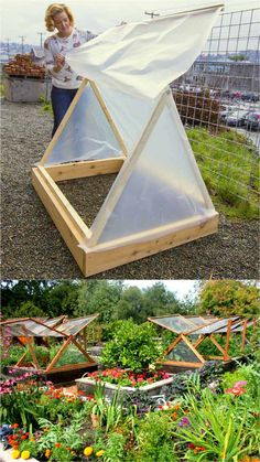 , 45 DIY Greenhouses with Great Tutorials: Ultimate collection of THE BEST tutorials on how to build amazing DIY greenhouses hoop tunnels and cold frame. , 42 Best DIY Greenhouses ( with Great Tutorials and Plans! Diy Garden, Garden Care, Garden Projects, Garden Landscaping, Landscaping Ideas, Diy Projects, Outdoor Projects, Pallet Projects, Outdoor Ideas