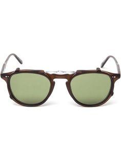 12d64bf14541 Garrett Leight  Hampton  clip-on Sunglasses Lenses - Farfetch