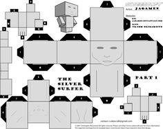 The Silver Surfer Cubeecraft Part 1 By Jan On Deviantart