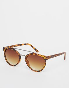 Jeepers Peepers Round Sunglasses - Brown
