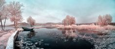 Infrared Stitched Panorama