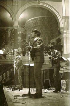 John Lennon, George Harrison, and Paul McCartney