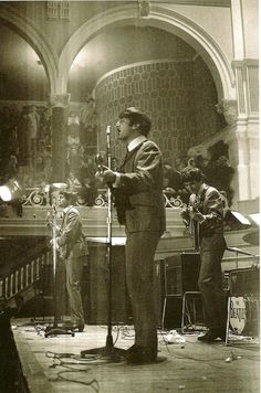 September 13 1963. The Beatles perform at the Preston Public Hall in the UK. The Beatles performed twice at the Public Hall. The first was on October 26, 1962. The second and last performance took place on September 13, 1963 as part of the Summer 1963 UK Tour. #beatles #1963