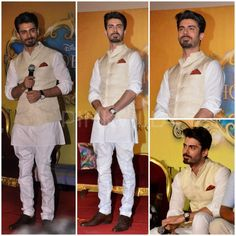fawad khan dressed by raghavendra rathore for khoobsurat - wearing Jodhpurs Wedding Dresses Men Indian, Wedding Dress Men, Wedding Men, Wedding Suits, Kurta Pajama Men, Kurta Men, Mens Ethnic Wear, Indian Groom Wear, White Kurta