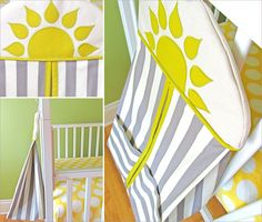Hanging Diaper Stacker for the Nursery   Sew4Home