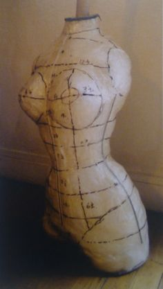 Dressform shaped on Dita Von Teese's body, used by Mr Pearl to create her couture corsets, 2010.