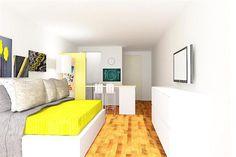 Solución 201: Cómo decorar un depto de 20m2   Weblog Redecorate   ESPACIO LIVING