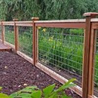 17 Awesome Hog Wire Fence Design Ideas For Your Backyard Diy