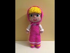 "Orso di ""Masha e Orso"" Amigurumi   How to crochet Bear Amigurumi - YouTube"