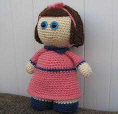 Baby girl  OLIVIA  Amigurumi Pattern by StudioKarmaPattern on Etsy