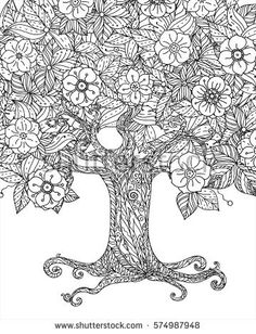 Free Adult Coloring Pages Tree Of Life