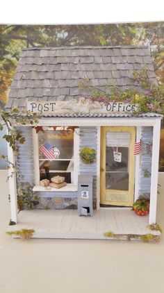 The Vintage Country  Post Office112  by cinderellamoments on Etsy, $556.00