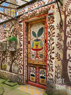 Doorway and Entrance in Provence, France Photographic Print by Tom Haseltine at Art.com