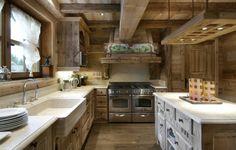 Stunning Alpine Kitchen // Designer Kitchens // Featured in the Art de Vivre Collection // Exclusive Designer Villas & Chalets for Rental Worldwide // www.artdevivre-collection.com