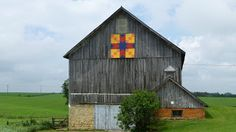 Barn Quilts, Arrowhead, in Monroe,  Wisconsin...Part of the Green County Quilt Barn Tour.