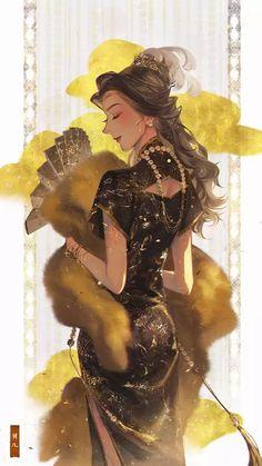 Disney Princess Art, Disney Princess Pictures, Disney Fan Art, Disney Princesses, Desenhos Halloween, Beautiful Fantasy Art, Arte Disney, Digital Art Girl, Disney And Dreamworks