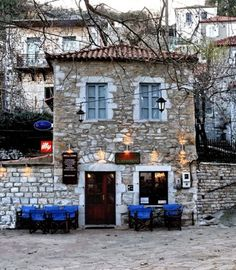 """""  ~ Kafenes "" Kosmas "" Kynourias ~ Arkadia ~  "" !! Goodbye Winter….!!  ""  photo by Yanni Logiotatides"