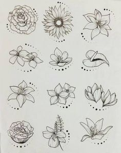 44 Ideas flowers drawing tattoo sketches inspiration for 2019 drawing tattoo flowers is part of Flower sketches - Tattoo Sketches, Tattoo Drawings, Drawing Sketches, Art Drawings, Drawing Art, Drawing Ideas, Drawing Tutorials, Drawing Techniques, Pencil Drawings