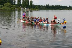 The Formidable Oars -  2014 Event. Milton Keynes Dragon Boat Festival in aid of Age UK Milton Keynes