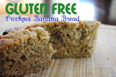 This sounds great but would substitute cranberries for the bananas - Gluten-Free Banana Bread made in the Crockpot!