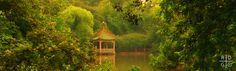 Paradiso Perduto by Just-Black on DeviantArt My Secret Garden, Shanghai, Scenery, Home And Garden, Cabin, Deviantart, Fantasy, Park, House Styles