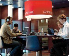 Schipol airport in Amsterdam