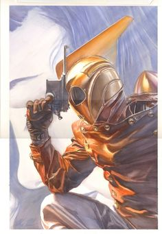 Rocketeer Adventures #2 Cover by Alex Ross Comic Art