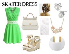 """Go green."" by dreamerxx-2538 ❤ liked on Polyvore"