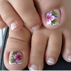 Now, I'm not going to insult your intelligence or risk my reputation by making some outlandish claims that in 21 days you're going to have a set of abs or be 50 pounds lighter than you are today without any effort. Pedicure Nail Art, Toe Nail Art, Nail Art Diy, French Fade Nails, Faded Nails, Pretty Toe Nails, Cute Toe Nails, Nail Art Designs Videos, Toe Nail Designs
