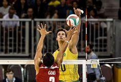 Blog Esportivo do Suíço: Brasil bate fácil Porto Rico e espera argentina na final do vôlei