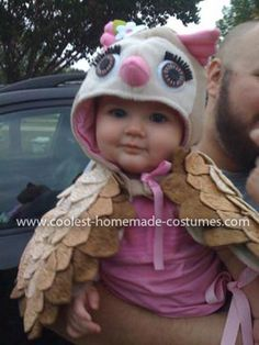 Coolest Baby Owl Costume 14: My little girl's owl costume came from the booming inspiration of owl popularity this year and it seemed like a subject many people in my area weren't