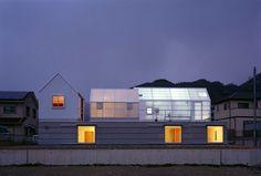casa translucida en Japón   domusxl