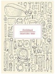 Toolshed Coloring Book