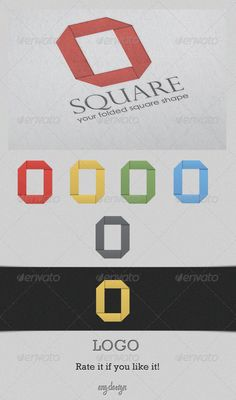 Square Logo #GraphicRiver A nice customizable logo, simple and elegant, suitable for all kind of industries. There are four colors and a grey version available in the file. Easy to change between colors. If you don´t like any of the colors, you can easily change them. All layers are well identified. Created: 30September11 GraphicsFilesIncluded: VectorEPS #AIIllustrator Layered: Yes MinimumAdobeCSVersion: CS3 Resolution: Resizable Tags: 300dpi #agency #blackandwhite #blue #brand #clean…