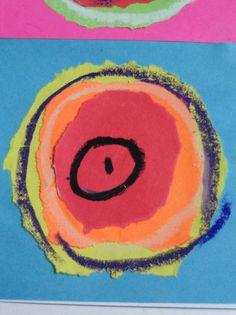 kandisky 010 Art For Kids, Crafts For Kids, Arts And Crafts, Kadinsky For Kids, Harmony Day, Toddler Art, Wassily Kandinsky, Art Club, Pablo Picasso