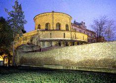 Santa Costanza - vista dalla basilica costantiniana - Chiese di Roma -