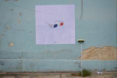 """""""diversity""""  LOCATION: Thessaloniki - Greece TECHNIQUE: paste up DIMENSION: 150 x 150 cm"""